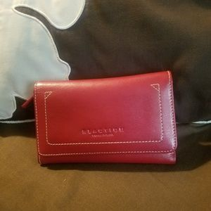 Red woman's wallet